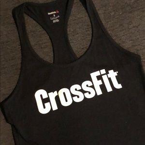 Reebok CrossFit black tank top
